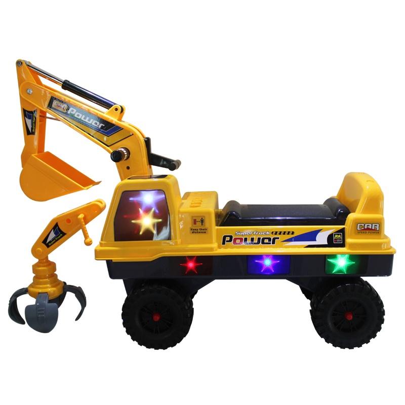 【嘉百乐学步车】儿童挖土机玩具二合一超大