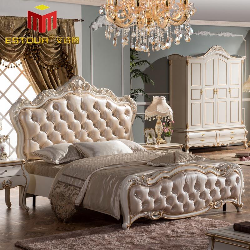 欧式卧室双人床
