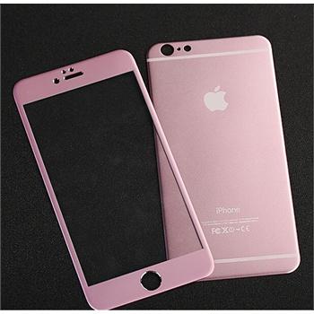 iphone6钢化玻璃膜4.7苹果6plus全屏覆盖s彩膜粉色前后贴膜手机6s最新爆款连衣裙图片