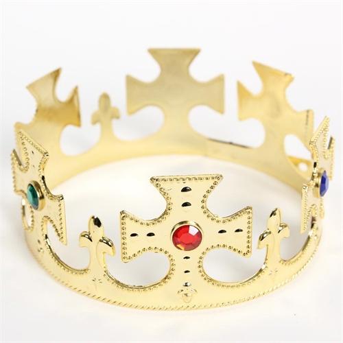 大贸商 金色王子国王皇冠 头饰头箍 皇帝头冠生日 ap07779