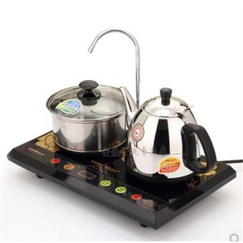 金灶t-300a双炉电热水壶电茶壶