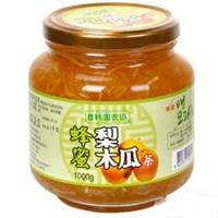 韩国农协 蜂蜜梨木瓜茶1kg
