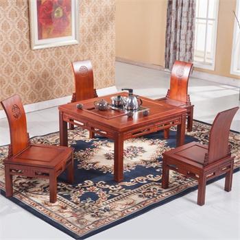 白蜡木实木家具602茶道桌泡茶茶台茶桌茶椅