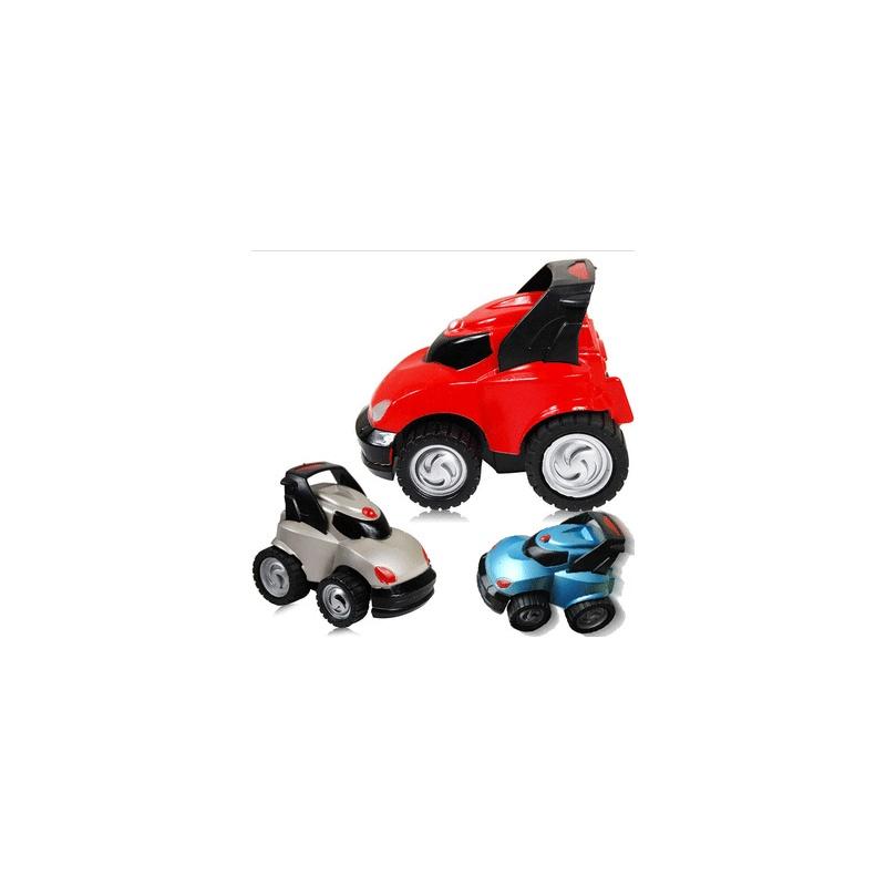 玩具小车矢量图
