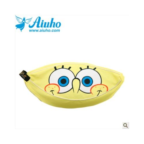 海绵宝宝可爱儿童香蕉船小沙发床懒人榻榻米可拆洗卡通月亮椅