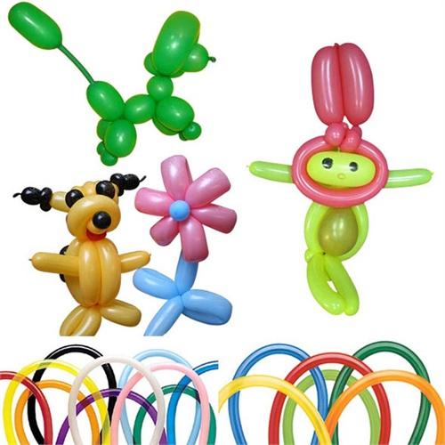 长条气球造型图解_长条气球花造型图解_长条气球编图片
