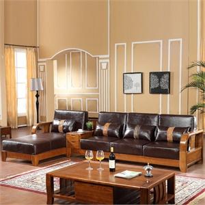 全实木沙发组合 中式客厅家具实木