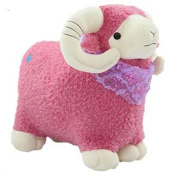 可爱小绵羊 嘟嘟小羊公仔毛绒玩具