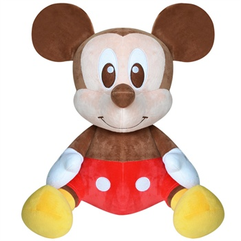 迪士尼毛絨玩具 米奇毛絨公仔4#坐姿系列 兒童毛絨玩具