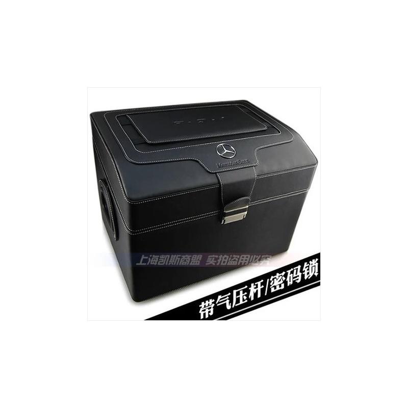 奔驰 宝马 奥迪 保时捷 路虎汽车载后备箱 后备箱 带密码锁 车载置物