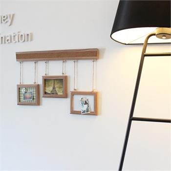 精耐特kinnet枫木纹带软木条相框板 创意组合相框软木