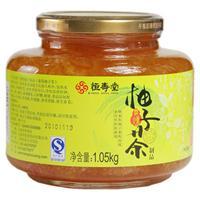 正品恒寿堂蜜炼柚子茶大瓶装1.05kg,29.9元包邮