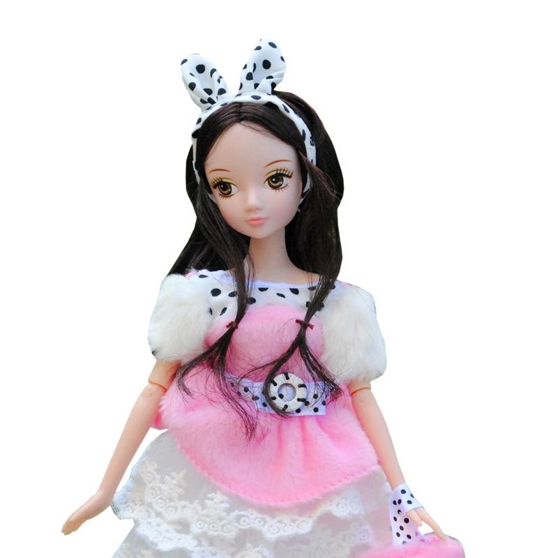 甜美可儿 芭比娃娃玩具套装礼盒儿童玩具 公主女孩洋娃娃玩具