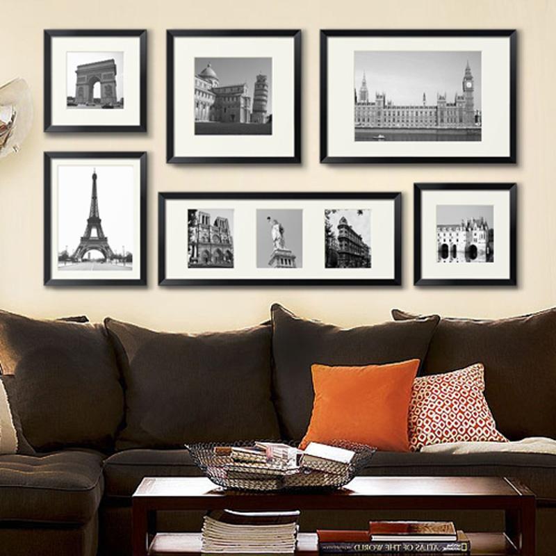墙蛙 往事装饰画 大尺寸复古欧式简约照片墙相片墙创意组合相框墙图片
