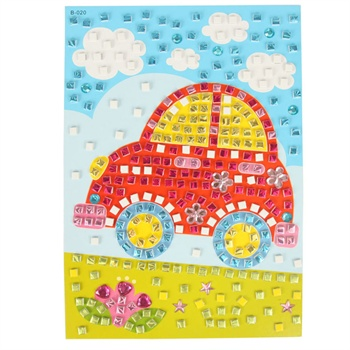 纸剪贴画大树-幼儿园手工创意粘贴画儿童diy益智