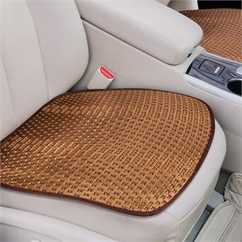 沿途汽车坐垫 夏季新款冰丝座垫无靠背三件套四季通用 单片凉垫