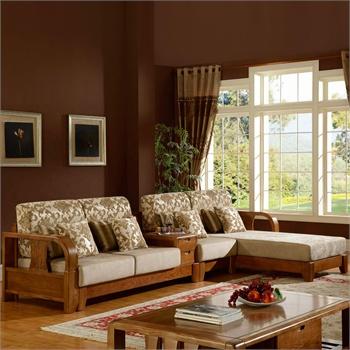 组合 中式客厅家具实木