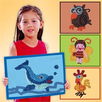 6岁儿童画创意画