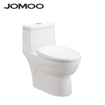jomoo九牧卫浴马桶节水虹吸排污舒洁釉面陶瓷底座坐