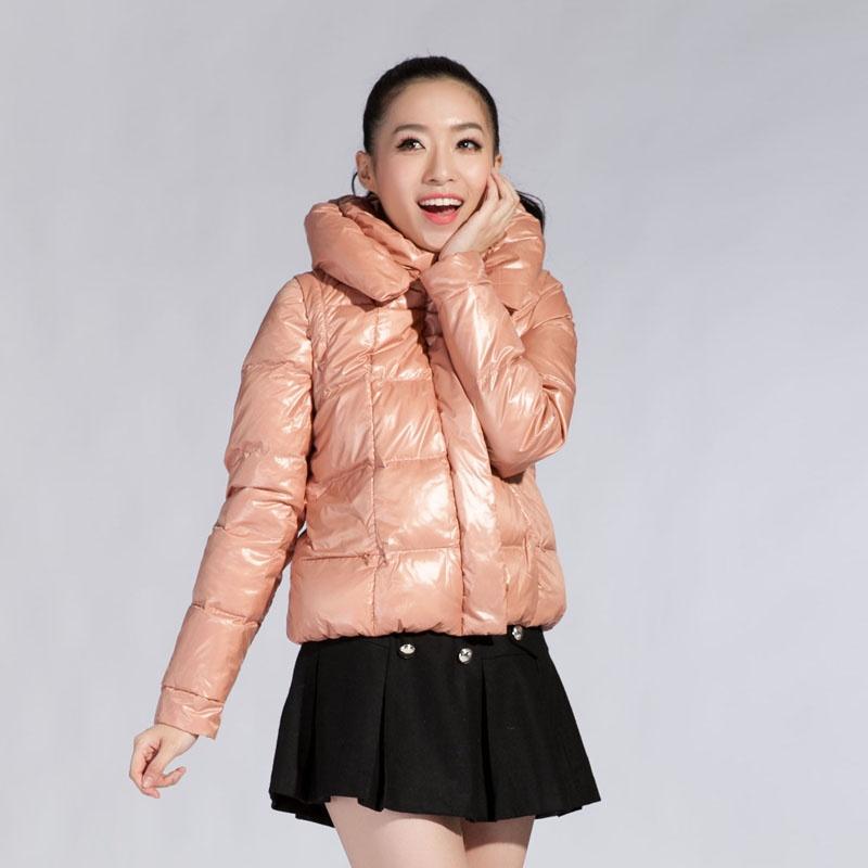 森马semir2013冬装新款 女装外套可拆卸袖新潮羽绒服原价399元1213241图片