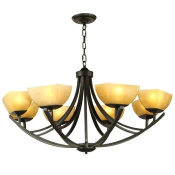 欧式古典复古怀旧吊灯 客厅吊灯餐厅吊灯咖啡厅吊灯 哑光黑