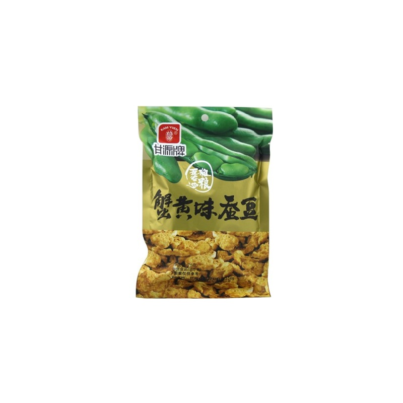 甘源牌蟹黄味蚕豆 江西特产 小袋装零食小吃75g