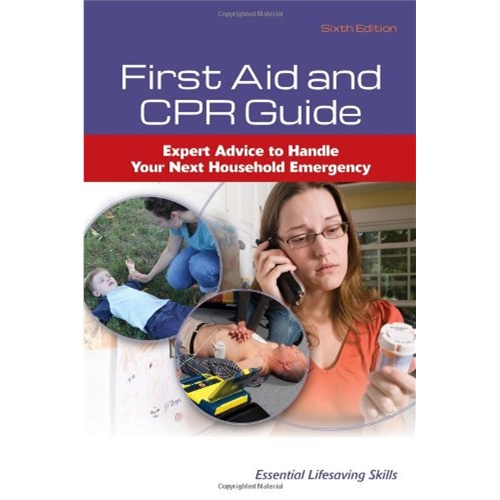 first aid and cpr guide (essential lifesaving skills) [isbn: 978