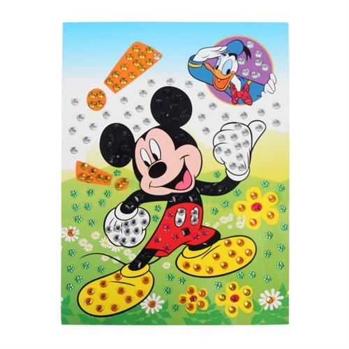 大贸商 钻石画 儿童创意diy手工制作水晶马赛克贴画 ef01516
