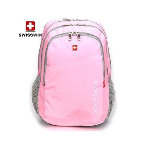 【swisswin瑞士军刀双肩背包旅游包电脑包学生休闲