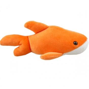 """""""仙宝""""毛绒海洋小动物橘海豚"""