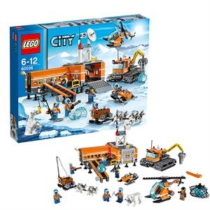 lego 乐高 city城市系列 北极宿营基地 积木拼插儿童益智玩具 l60036图片