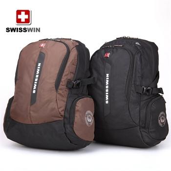 swisswin 瑞士军刀双肩旅行商务旅行背包男15.6寸电脑图片