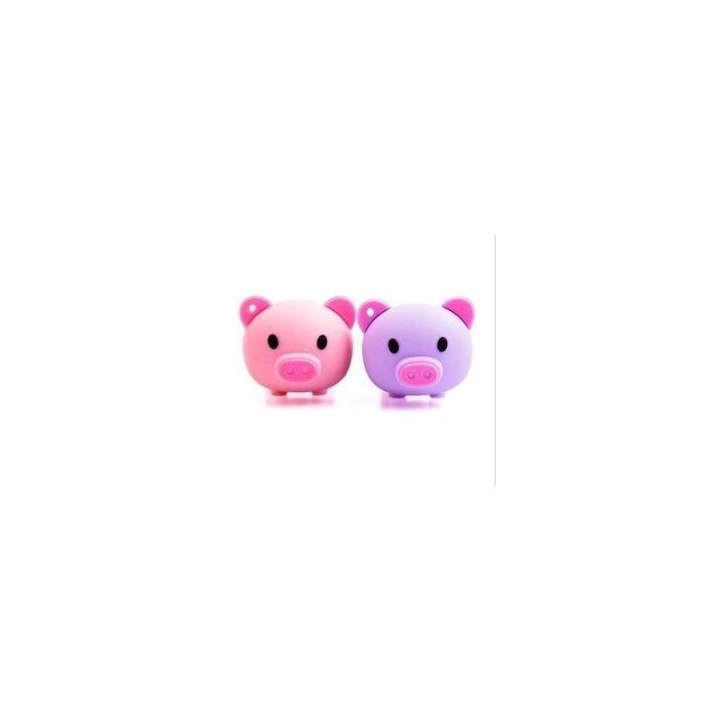 (鑫龙办公)个性 u盘8g正品卡通u盘 粉粉小猪u盘 可爱 创意u盘