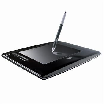 汉王数位板 手绘板 绘图板绘画板 创艺大师+1107大版面专业级双笔