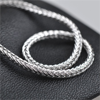 相思树 男士龙纹项链 霸气925纯银链子