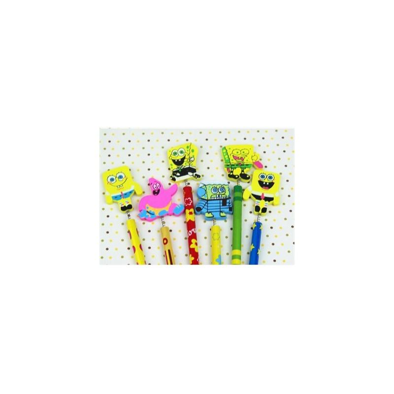 【达诚信80笔类】韩国可爱木质卡通动物铅笔 创意学习