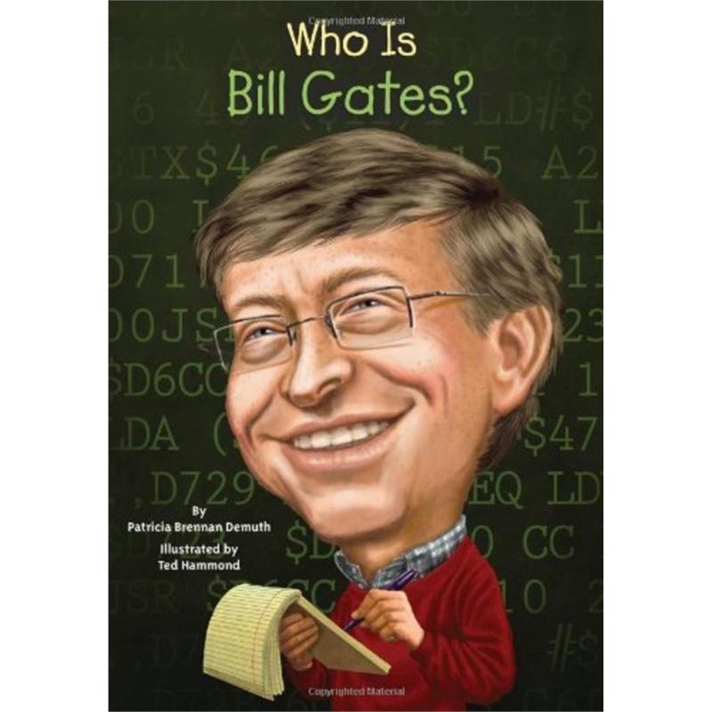 《英文原版 比尔盖茨 名人认知系列 Who Is Bil