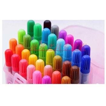 郎36色/24色水彩笔 桶装笔