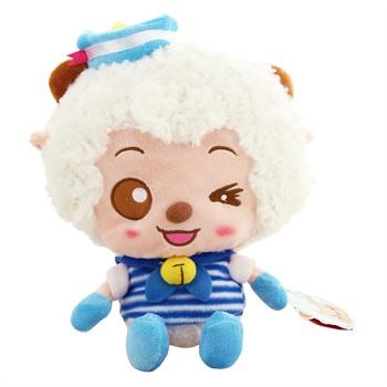 喜羊羊与灰太狼毛绒玩具 12寸美羊羊毛绒公仔可爱穿衣