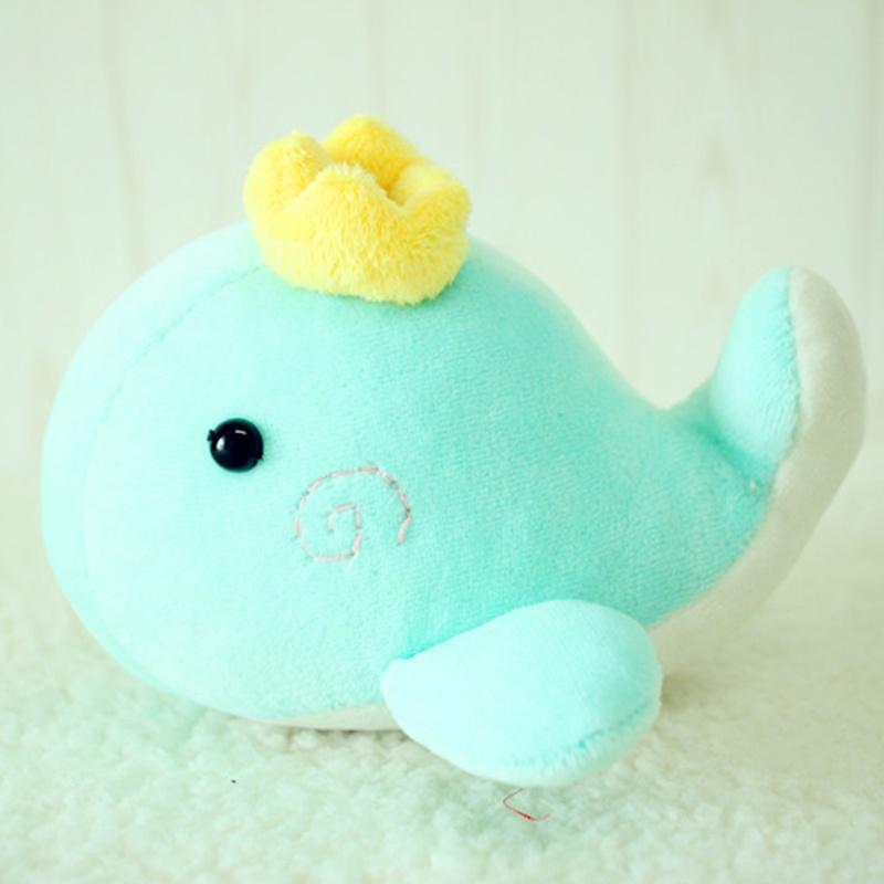 阿卡手工 宝宝/婴儿玩具 海洋毛绒玩具 毛绒公仔 鲸鱼小王子玩偶