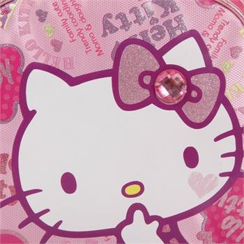 hello kitty 凯蒂 可爱超轻减负护脊双肩背包小学生书包kt5008