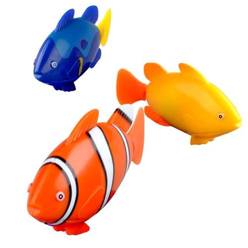 宝宝洗澡玩具 电子宠物鱼会自动游泳的鱼 婴儿儿童洗澡戏水玩具