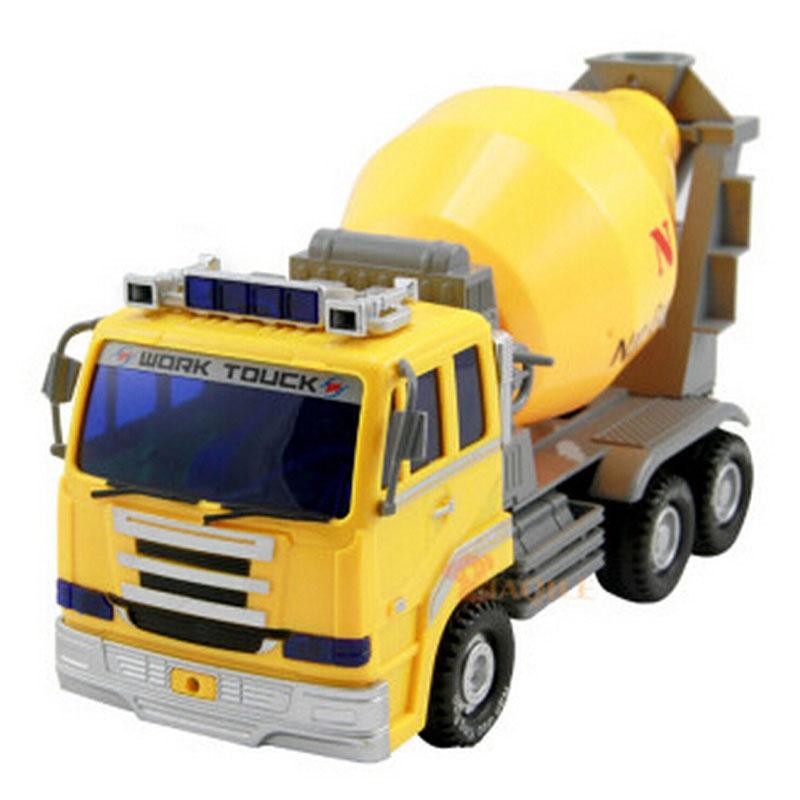 婴儿玩具 南国婴宝大型工程车 带音乐惯性汽车 耐摔灯光搅拌卡车 玩具
