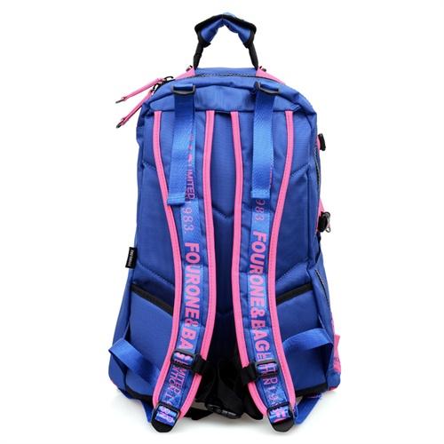 fourone2014新款时尚旅行背包 中学生书包 双肩包 女图片