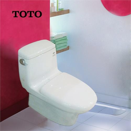 toto 马桶 cw874b/pb 墙排地排 连体式坐便器 节水座便器
