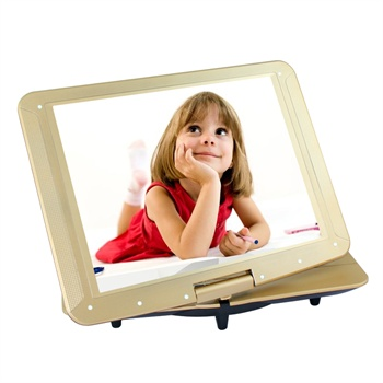 sast/先科 15寸移动dvd抽屉式高清evd影碟机播放器插卡看戏机视频机