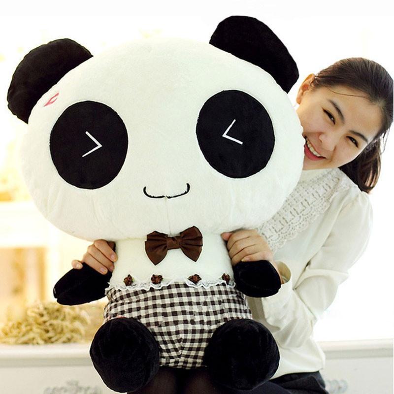 可爱熊猫 公仔 毛绒玩具 布娃娃 熊熊 公仔