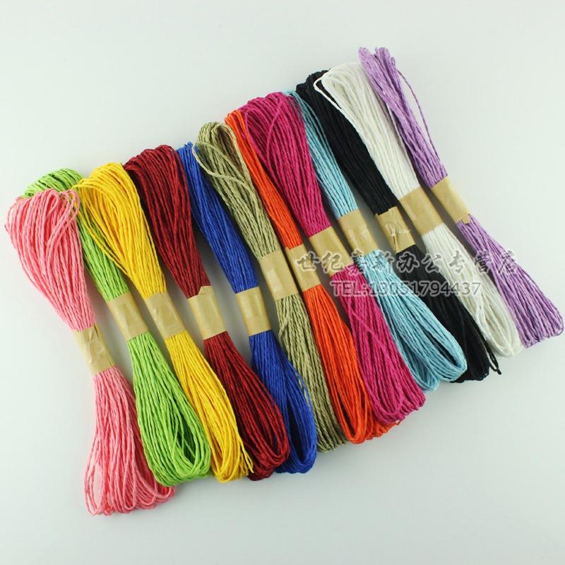 幼儿园新年纸绳编织作品图片