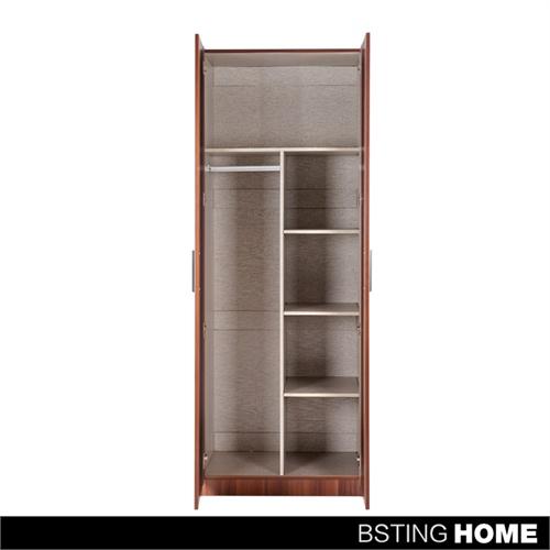 衣柜 两门衣柜简易衣柜木制组装衣柜