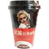 白菜党:汉波 杯装浓缩型 红枣浓浆25g